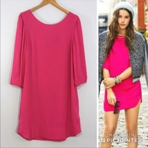 American Eagle Outfitters 3/4 Sleeve Shift Dress